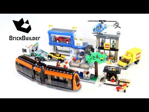 Lego City 60097 City Square - Lego Speed Build