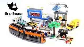 lego city 60097 city square lego speed build