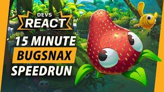 Bugsnax Developers React to 15 Minute Speedrun