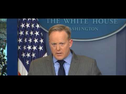 White House press secretary Sean Spicer lashes out at media for fake news coverage