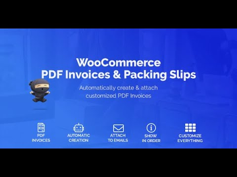 WooCommerce PDF Invoices  Packing Slips Plugin
