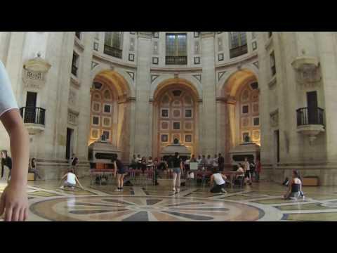 1º ensaio de conjunto no Panteão Nacional