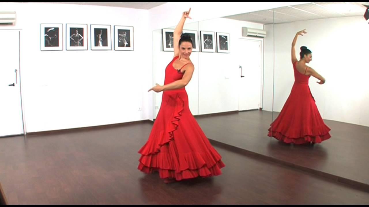 Dos Giros Básicos En El Baile Flamenco Youtube