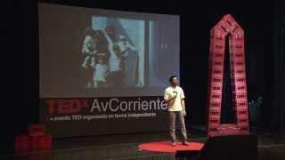Como una beca puede cambiarnos la vida: Manuel Sanchez at TEDxAvCorrientes 2013