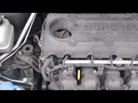 Стук двигателя на холодную.  Киа спортейдж 3