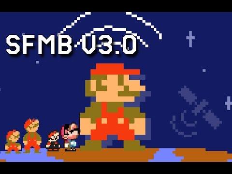 Super Mario Bros  FanGame Development ShowCase 170504