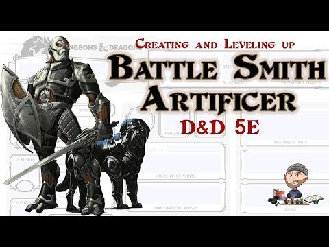D&D Battle Smith Artificer 5E Character Build - Warforged Eberron