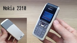 Nokia 2310 - review ringtones, wallpapers, games...