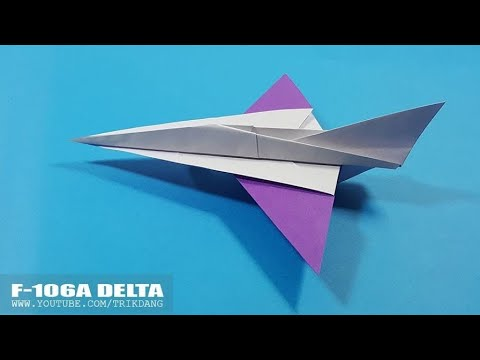 BEST PAPER AIRPLANE for Kids - How to make a Paper Airplane