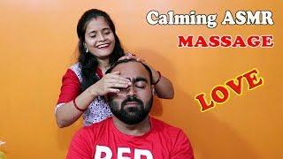 Pure ASMR Head massage - Calm your mind