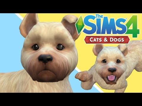 CREATING MY DOG - The Sims 4 Cats and Dogs | Dog Does My Voiceover |