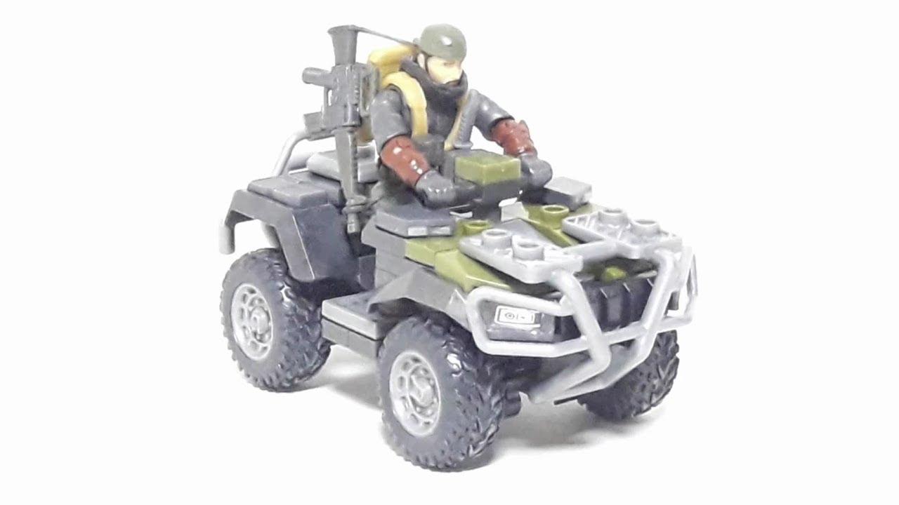 [Mega construx 메가 컨스트럭스] Call of duty ATV raid set review 콜오브듀티 ATV 레이드 세트 리뷰 - YouTube
