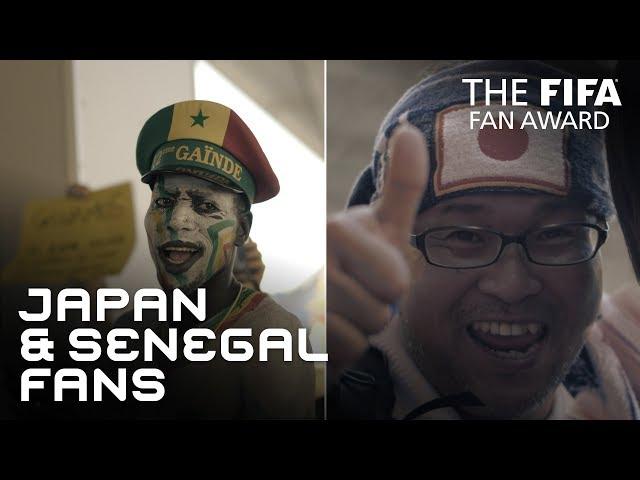 Japan & Senegal Fans - FIFA Fan Award 2018 - NOMINEE
