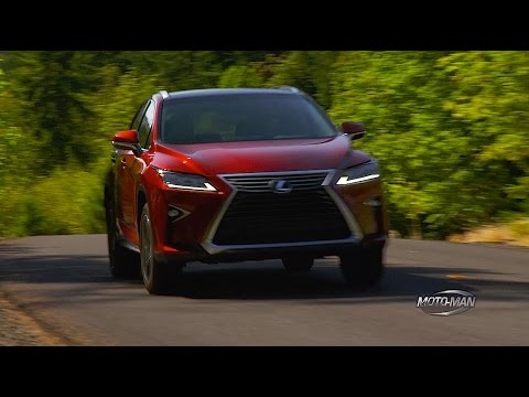 2016 Lexus RX350 FIRST DRIVE REVIEW