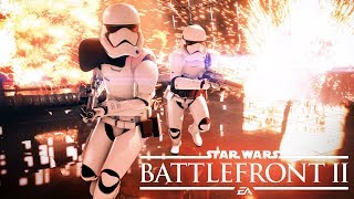 Почему Battlefront 2 ЛУЧШИЙ ОНЛАЙН шутер, Mass Effect [Звездные войны Star Wars Battlefront II]