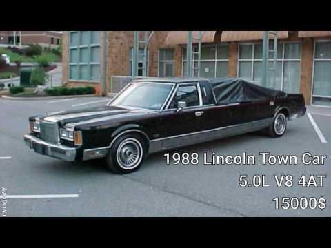 Striptiz limuzini Lincoln Town Car 5.0L V8 1988