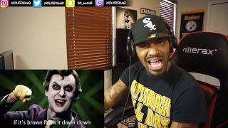The Joker vs Pennywise. Epic Rap Battles Of History (REACTION!!!)