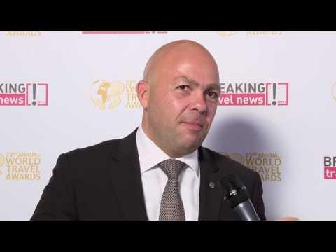 Faiek El Saadani, hotel manager, The St. Regis Dubai