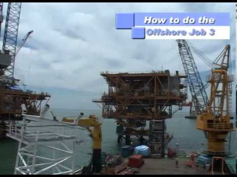"Serial How To Make The Things: ""How to do The Offshore Job 3"" Segment 2 of 4"