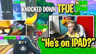 TFUE *NERVOUS* Playing MOBILE PROS in SCRIM! (MOBILE vs PC)