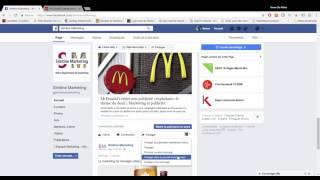Comment partager un message Fan Facebook sur sa page personnelle