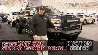 New Custom Lifted 2017 GMC Sierra 2500HD Duramax - White Bear Lake, St Paul, Mpls, MN