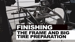Building a Pro Street G-Body Grand National Clone E6 | Frame Welding And Big Tire Preparation
