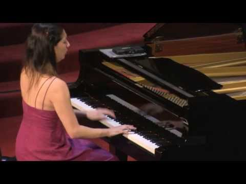 "Tanya Gabrielian, piano performs Handel-Liszt Chaconne and Sarabande from ""Almira"""