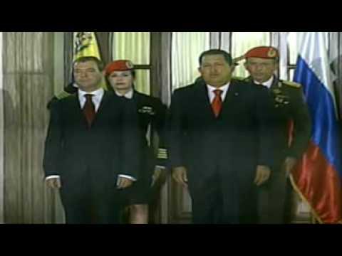 Himno De Venezuela En Recepción De Medvedev