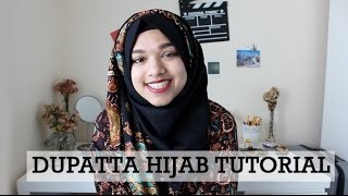 Dupatta Hijab Tutorial | For Thick Scarves Thumbnail