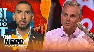 Download Nick Wright makes 2019 NBA free agency predictions | NBA | THE HERD Mp3 and Videos