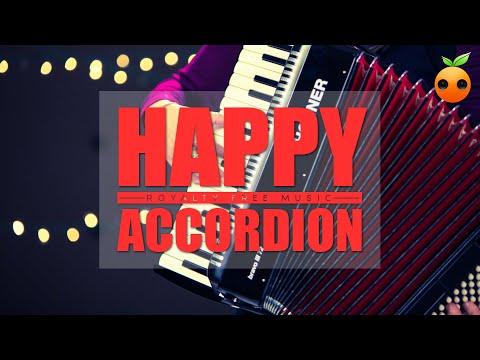 🎼Happy Accordion (Royalty Free Music | BGM | Stock Music | Instrumental | Copyright Free)