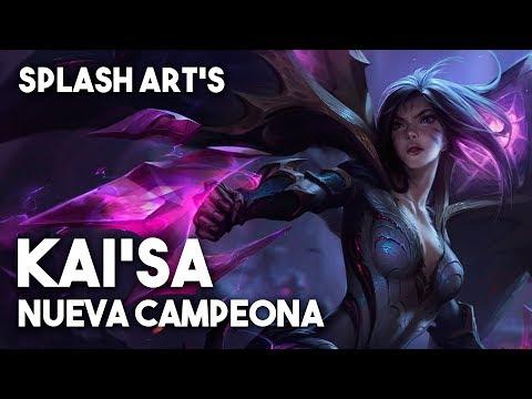 Kai'Sa Nueva Campeona | Splash Art - League of Legends
