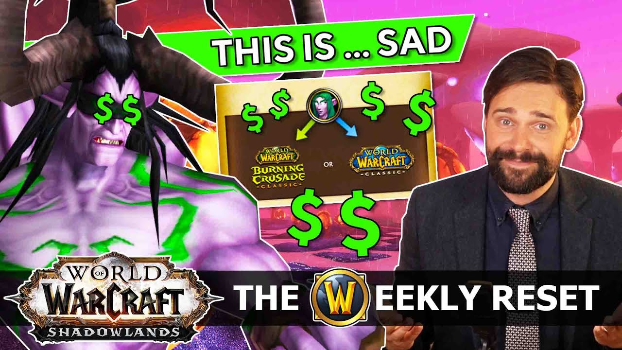 How Blizz Betrayed TBC Classic... The True Cost Of Monetizing A More Innocent Time