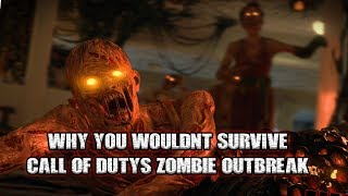Why You Wouldn't Survive Call of Duty's Zombie Apocalypse