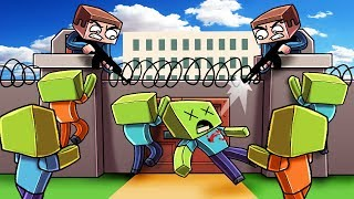 Minecraft | ESCAPE THE ZOMBIE PRISON - Break OUT Challenge! (Zombie Prison)