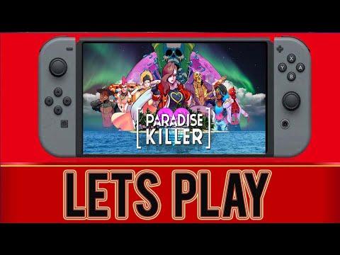Paradise Killer - 1st 12 Minutes - Nintendo Switch  