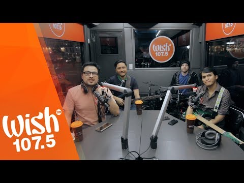 Shamrock performs Nandito Lang Ako  on Wish 1075 Bus