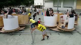 スーパーコーヒーカップ(2017年筑波大学附属高校文化祭)
