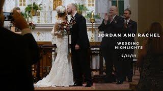 Jordan and Rachel Wedding Highlights - Pittsburgh Winter Wedding