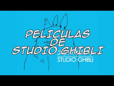 Todas las Películas de Studio Ghibli (2014)
