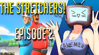 The Stretchers Couch Co-op Let's Play Part 2 | Trouble at the Ol Sawmill boy?! | GAMEMEN