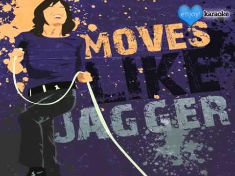 "Me singing ""Moves Like Jagger"" on Enjoy! Karaoke"