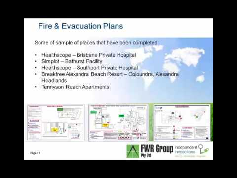 Fire and Evacuation Plan Presentation Canberra