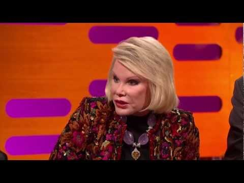 Joan Rivers -  The Graham Norton Show. 30 November 2012. HD.