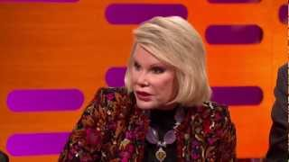 Joan Rivers -  The Graham Norton Show. 30 November 2012. HD.