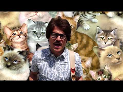 Couch Guitar Straps - Cat Straps and Wallets! oh my! CATS!