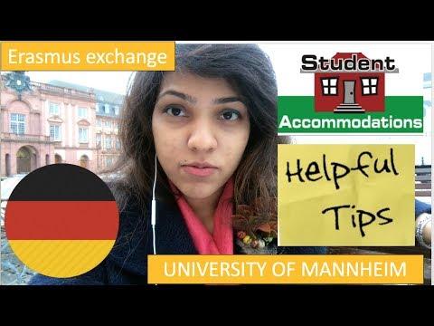 14 TIPS + Accommodation advice + Save money + ARRIVAL @ UNIVERSITY OF MANNHEIM, GERMANY|STUDY ABROAD