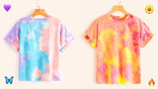 Amazing Tie dye techniques !! | get inspired and DIY !! 💖