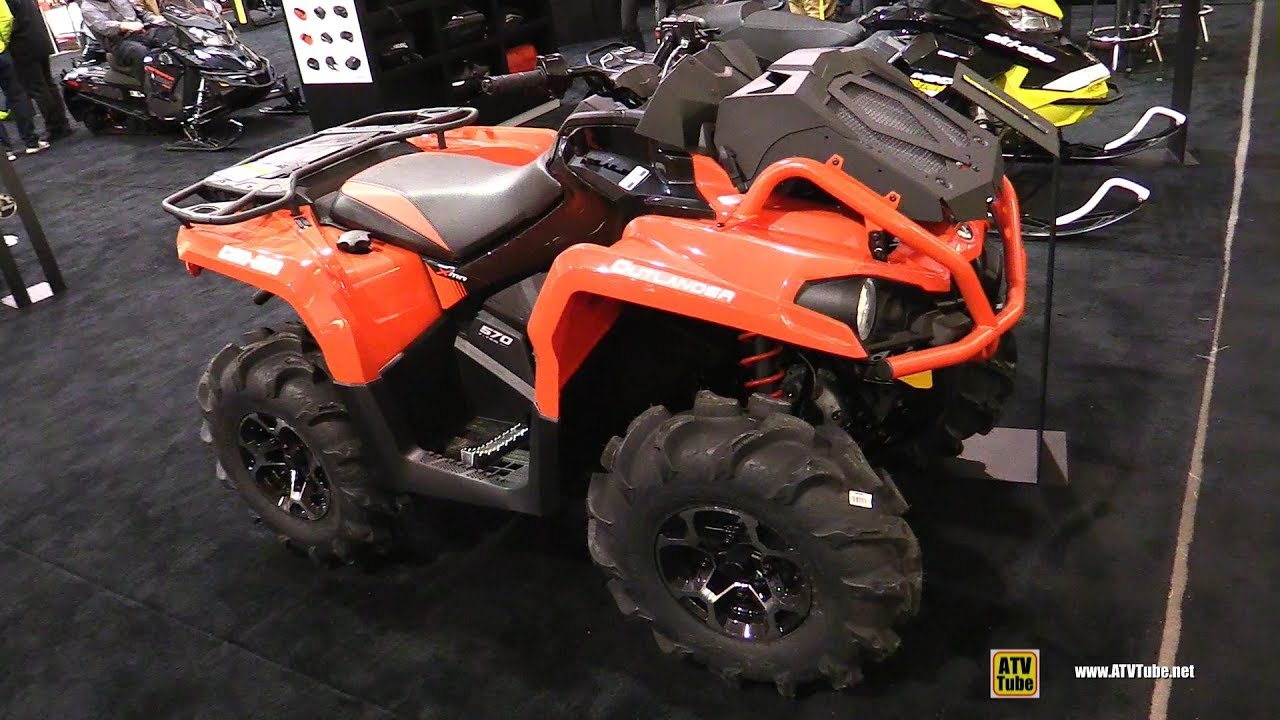 2018 Can Am Outlander X Mr 570 Utility Atv Walkaround 2017 Toronto Show